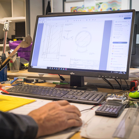 Analyse de plan - Atelier de chaudronnerie - AMTI Nantes (44) - Assistance Maintenance Technique Industrielle