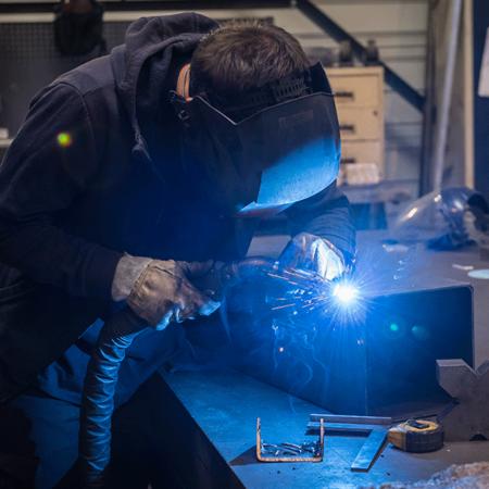 Soudure MIG - Atelier de chaudronnerie - AMTI Nantes (44) - Assistance Maintenance Technique Industrielle