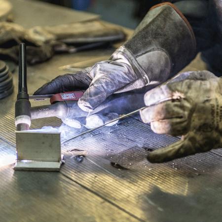 Soudure TIG - Atelier de chaudronnerie - AMTI Nantes (44) - Assistance Maintenance Technique Industrielle