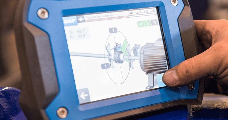 Maintenance pompe en liniage laser écran - Maintenance industrielle - AMTI Nantes (44) - Assistance Maintenance Technique Industrielle
