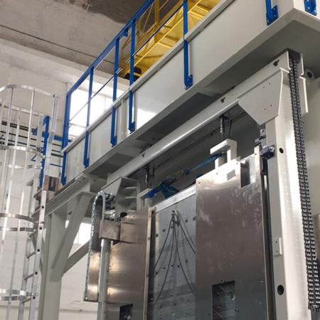 Montage spécifique d'une presse aéronautique - Fabrication et montage spécifique - AMTI Nantes (44) - Assistance Maintenance Technique Industrielle
