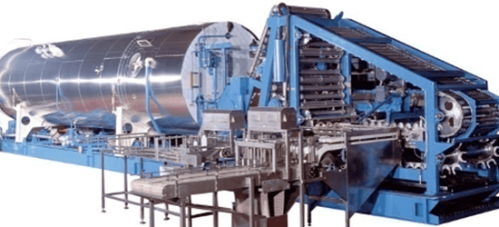 Stérilisateur industriel - Fabrication et montage spécifique - AMTI Nantes (44) - Assistance Maintenance Technique Industrielle